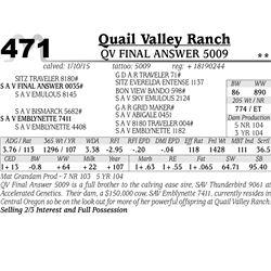 Quail Valley Ranch