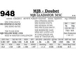 MJB - Doubet