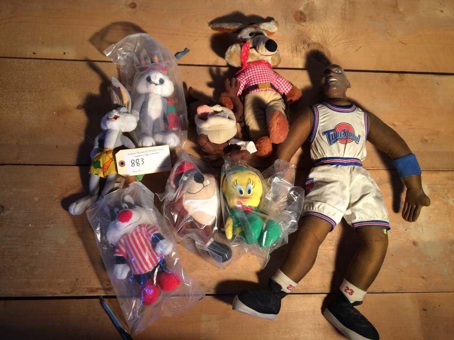Looney Toons Space Jam Stuffed Animals 8