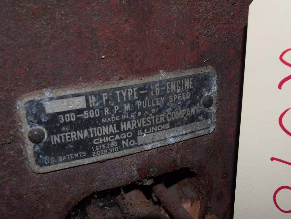 3 HP International Stationary Engine