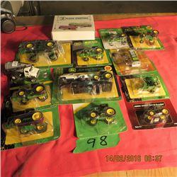 Misc. John Deere tractors etc.
