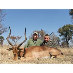 10-Day 2x1 Plains Game Hunt for 2-4 Hunters in Limpopo (Province of South Africa)