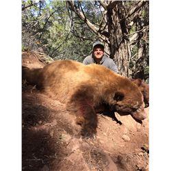 2017 Utah San Juan Multi Season Bear Conservation Permit