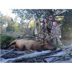 2017 Utah Plateau, Boulder/Kaiparowits Archery Elk Conservation Permit