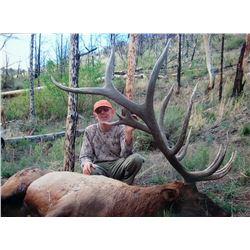 2017 Utah Mt Dutton Multi Season Elk Conservation Permit
