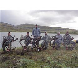 10-Day Trophy Mountain Caribou at Arctic Red Outfitters for (2) Hunters