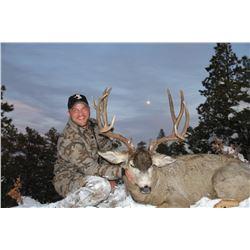 2017 Jicarilla Tribe Mule Deer Auction Permit