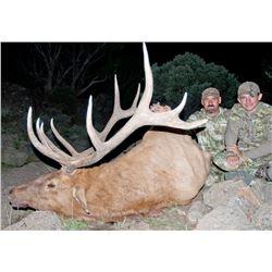 2017 Utah Southwest Desert Multi-Season Elk Conservation Permit