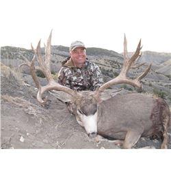 2017 Utah Henry Mtns Deer (Muzzleloader) Conservation Permit