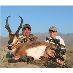 2017 Utah Statewide Pronghorn Conservation Permit