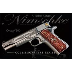 Louis Daniel Nimschke Series 70 Colt .45 Pistol (1 of 300)