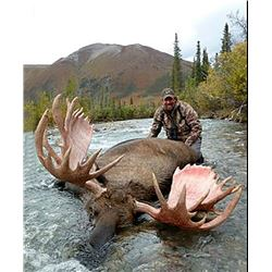 2019 Horseback Hunt - Dall Sheep, Moose and Caribou Tom Mower Conservation Hunt