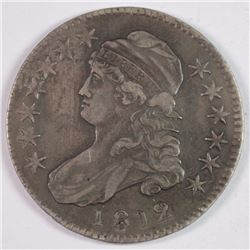 1812 BUST HALF DOLLAR XF/AU
