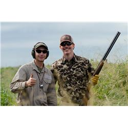 DAVID DENIES BIRD HUNTING: 4-Day High Volume Dove Hunt for Eight (8) Hunters in Argentina
