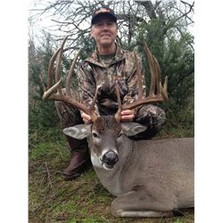 WES HIXON/KLINT GRAF: 4-Day Whitetail Deer Hunt for One Hunter and One Non-Hunter in Texas - Include
