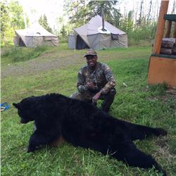 BC GUIDE OUTFITTERS: 5-Day Black Bear Hunt for One Hunter in British Columbia