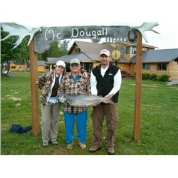 MCDOUGALL LODGE: 6-Day/5-Night Fishing Trip for Two Anglers in Alaska