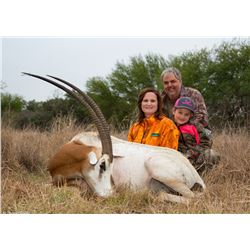 RECORDBUCK RANCH: 3-Day Exotic Game Hunt for One Hunter and One Non-Hunter in Texas - Includes Troph