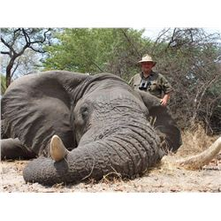 NDUMO HUNTING SAFARIS: 14-Day Elephant Hunt for One Hunter and One Non-Hunter in the Caprivi Region