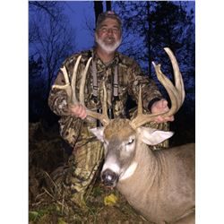 ALLEN CREEK RANCH: 4-Day Whitetail Deer Hunt for Two Hunters in Michigan - Includes Trophy Fees and