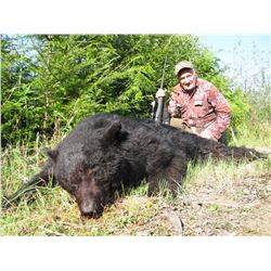 TROPHY WEST GUIDE: 5-Day Black Bear Hunt for One Hunter in British Columbia - Includes Trophy Fee