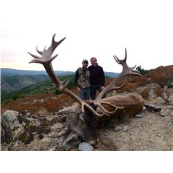 WILDHUNTING IN TURKEY: 5-Day Anatolian Red Stag/Mid-Eastern Red Deer Hunt for One Hunter and One Non