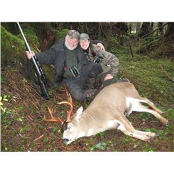 GLACIER GUIDES INC: 6-Day Sitka Blacktail Deer Hunt and Coastal Luxury Cruise for One Hunter in Alas