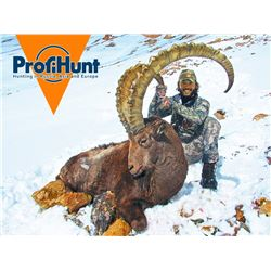 PROFIHUNT: 7-Day Mid-Asian Ibex Hunt for One Hunter in Kyrgyzstan - Includes Trophy Fee