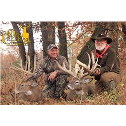 OAK CREEK RANCH: 3-Day/4-Night Elk and Whitetail Deer Combo Hunt for One Hunter in Missouri - Includ