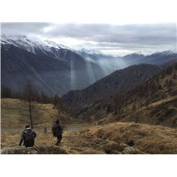 ITALIAN SAFARI: 3-Day Alpine Chamois Hunt for Two Hunters and Two Non-Hunters in Italy - Includes Tr