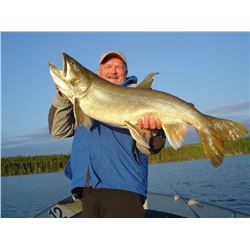 KISSISSING & TUKTO LODGES: 4-Day/4-Night Fishing Trip for Two Anglers in Manitoba, Canada