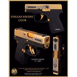 HERITAGE COLLECTABLES: Heritage Collectables Custom Pistol by Kahr Arms - In Black/Gold Combo