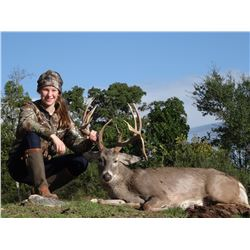 L&L ADVENTURES: 3-Day Whitetail Deer Hunt for Two Hunters and Two Non-Hunters in Texas - Includes Tr