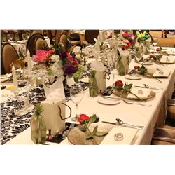 2018 Ladies Luncheon Premier Table