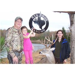 RIO ROJO RANCHO: 3-Day/4-Night Whitetail Deer Hunt for One Hunter and One Non-Hunter in Texas - Incl