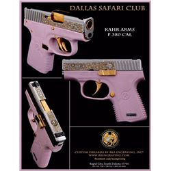 HERITAGE COLLECTABLES:  Custom Pistol by Kahr Arms - In Pink/Gold Combo