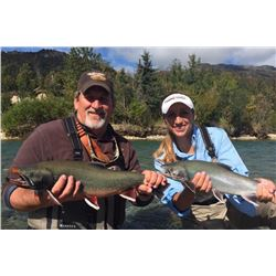 ANGRY EAGLE LODGE: 6-Day Fishing Trip for Two Anglers in Alaska