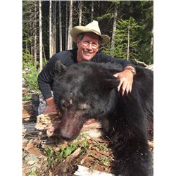 CANADIAN GUIDE OUTFITTERS: 5-Day Vancouver Island Bear Hunt for One Hunter and One Non-Hunter in Can