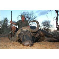 MOLOPO KALAHARI: 10-Day Cape Buffalo, Sable and Plains Game Hunt for Two Hunters in South Africa - I