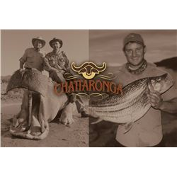 CHATTARONGA: 12-Day Dangerous Game Hippo/Tiger Fish Houseboat Expedition for One on Lake Kariba, Sen
