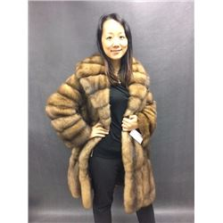 ALASKA FUR: Ladies Russian Sable Jacket