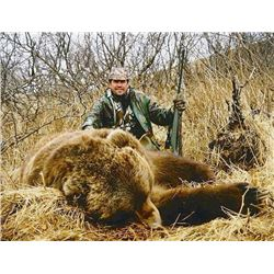 FEJES GUIDE SERVICE: 10-Day Spring Brown Bear Hunt for One Hunter in Alaska - Includes Trophy Fee