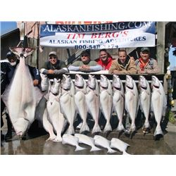 ALASKAN FISHING ADVENTURES: 4-Day/5-Night Fishing Adventure for Four Anglers in Alaska