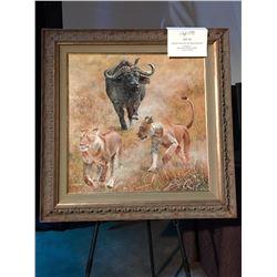 MCGUIRE & HINES: Original Acrylic on Canvas Artwork by Jan Martin McGuire