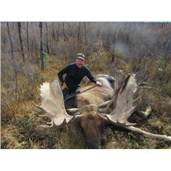 YUKON BIG GAME: 11-Day Yukon Moose Hunt for One Hunter in Canada - Includes Trophy Fee