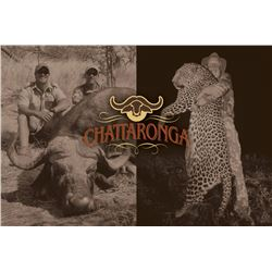CHATTARONGA: 14-Day Dangerous Game Leopard/Buffalo Hunt for Two in Matetsi, Zimbabwe - Includes Trop