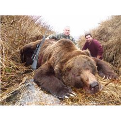 PERRINS RAINY DAY PASS: 15-Day Kodiak Brown Bear Hunt for One Hunter in Alaska - Includes Lifesize T