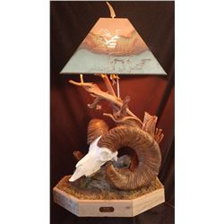 """HIDE & SEEK"" SHEEP HORN LAMP"