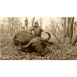 10-DAY CAPE BUFFALO HUNT IN SOUTH AFRICA FOR 1 HUNTER