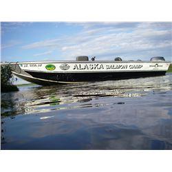 6-DAY/5-NIGHT SALMON TRIP IN ALASKA FOR 1 ANGLER